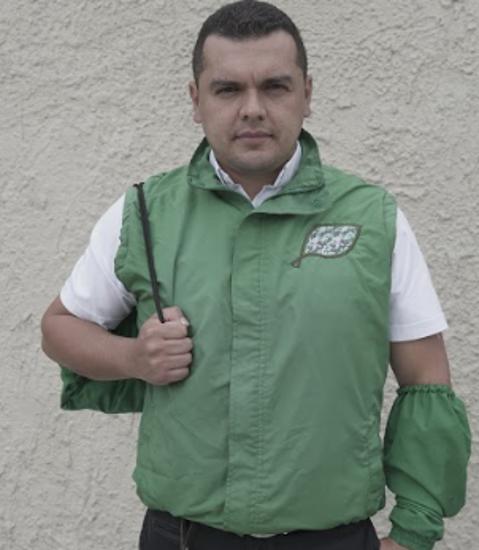 """Imagen de Chaleco """"Dejando Huella Verde"""" X 2 unidades - Con envío incluido"""