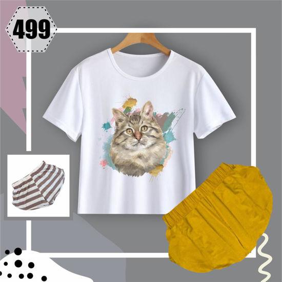 Imagen de pijamas gato 499