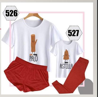 Imagen de pijamas tal pal (madre e Hijo) 526 - 527