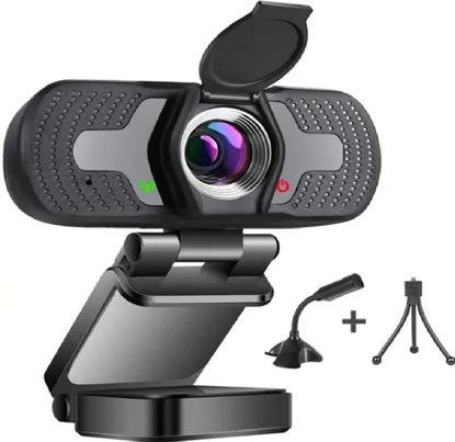 Imagen de Cámara Web Con Micrófono, Hd 1080p -usb With 110°