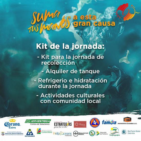 Imagen de Inscripción campaña Limpieza Submarina Cabo de la Vela